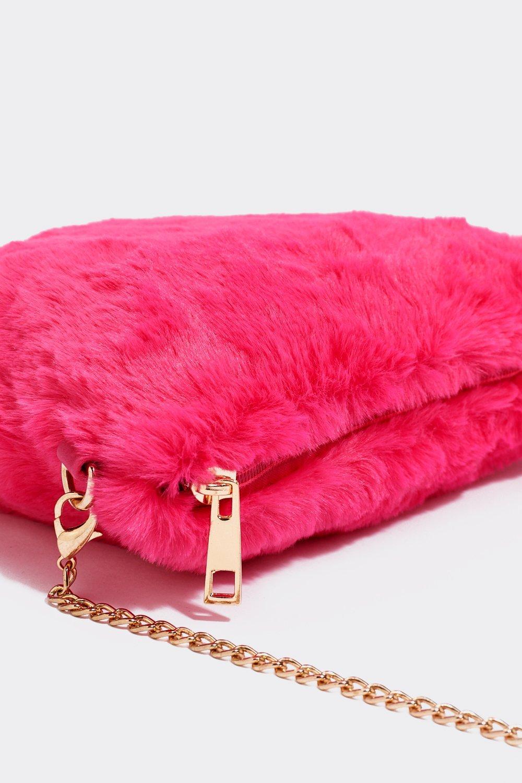 Faux Fur Chain Bag  ff69c10692a86