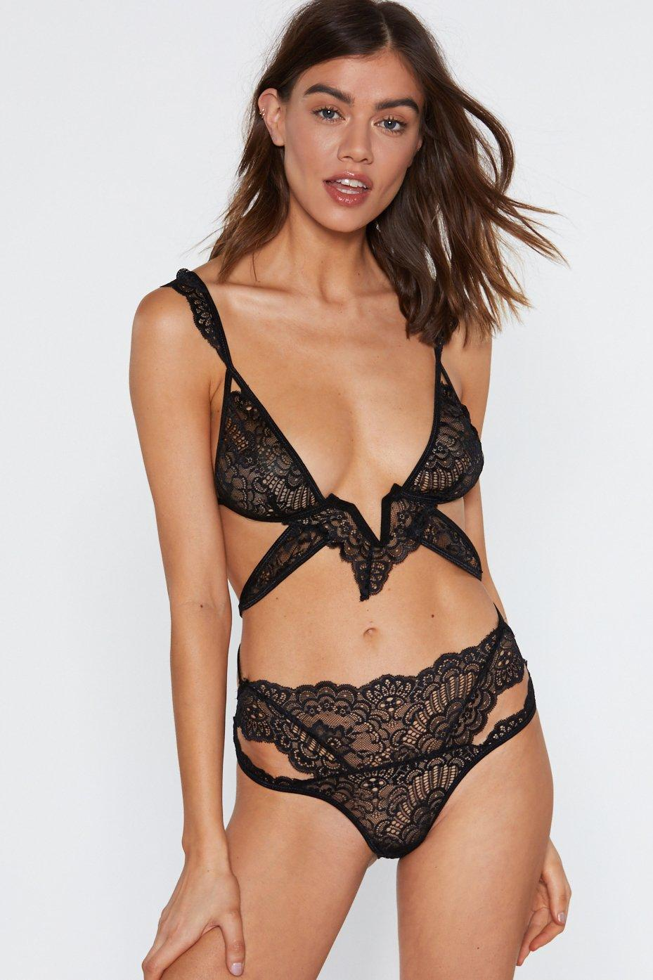 lace-in-point-strappy-bralette-and-panty-set by nasty-gal