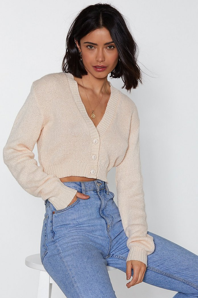 Button Cropped Cardigan | Shop Clothes at Nasty Gal!