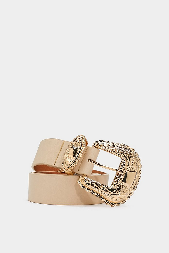 Look Your West Faux Leather Belt | Nasty Gal