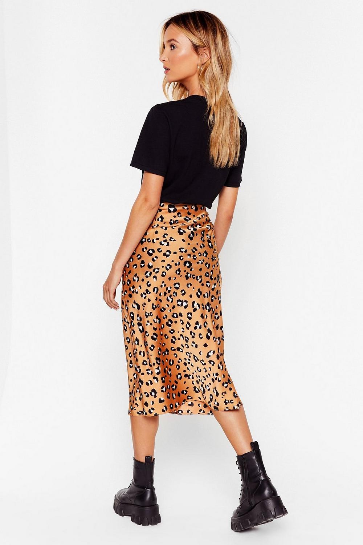 c087516759b0 Leopard Print Bias Cut Midi Skirt   Shop Clothes at Nasty Gal!