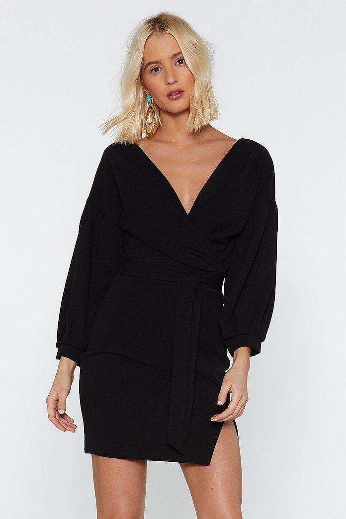 Tie Sleeve Wrap Dress | Topshop