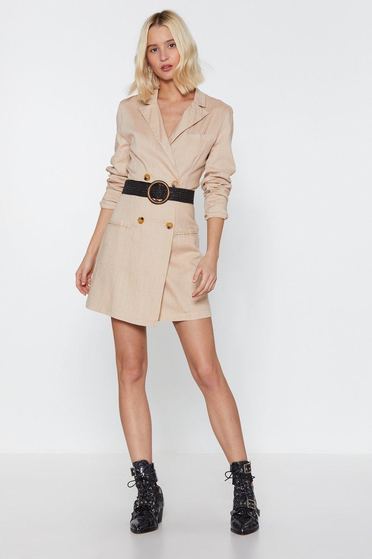 08082f20669d Linen Up Mini Blazer Dress   Shop Clothes at Nasty Gal!