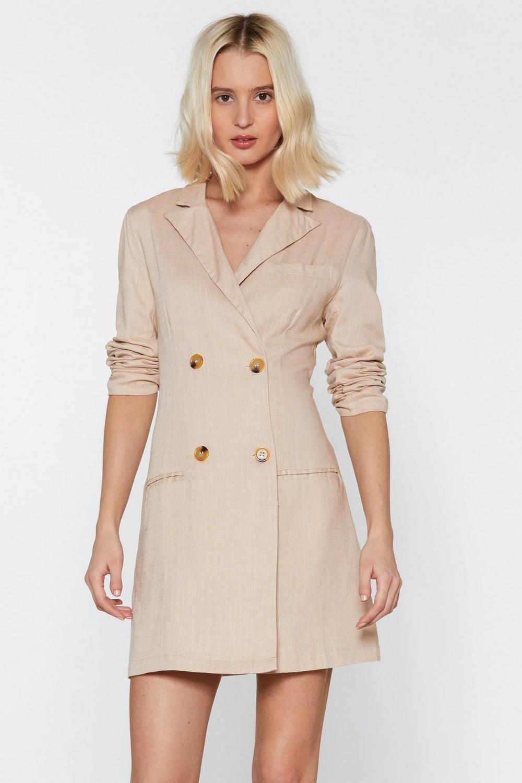 d0e759513585 Linen Up Mini Blazer Dress | Shop Clothes at Nasty Gal!