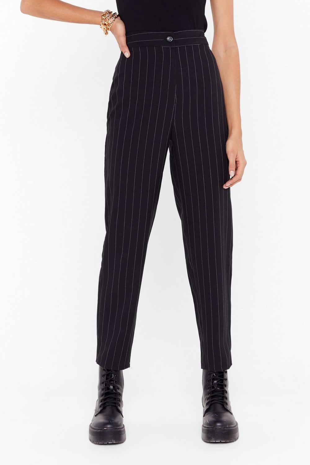 46bf6489a2c5 Put a Pinstripe in That Tapered Trousers | Shop Clothes at Nasty Gal!