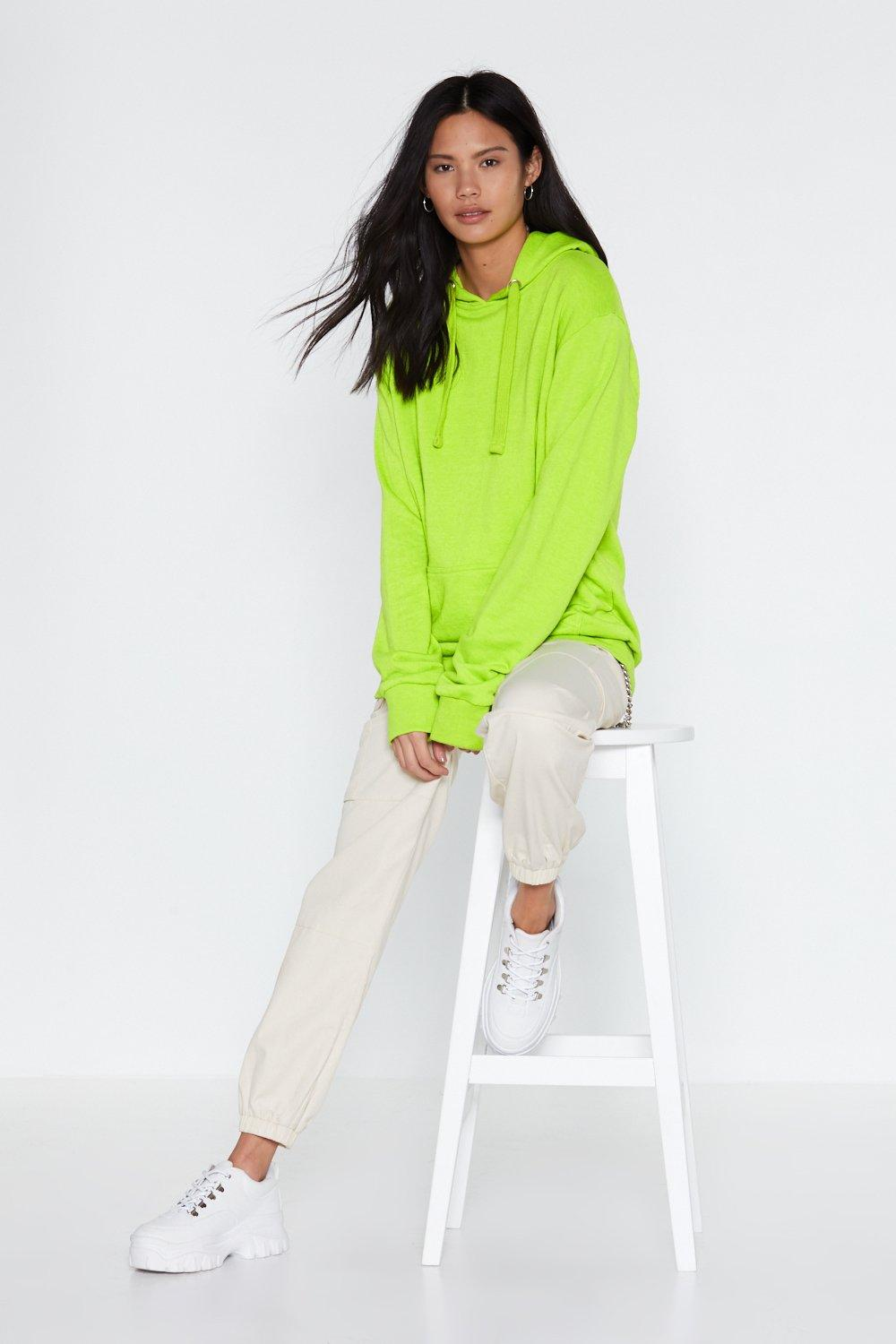 14ba76186ea2 Time Out Oversized Hoodie   Shop Clothes at Nasty Gal!