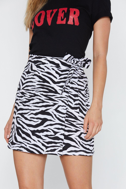 434e99936e41 Life is Wild Zebra Mini Skirt | Shop Clothes at Nasty Gal!