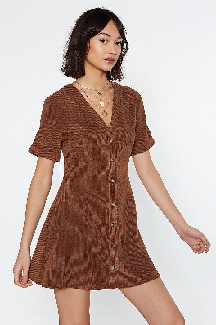 corduroy dress