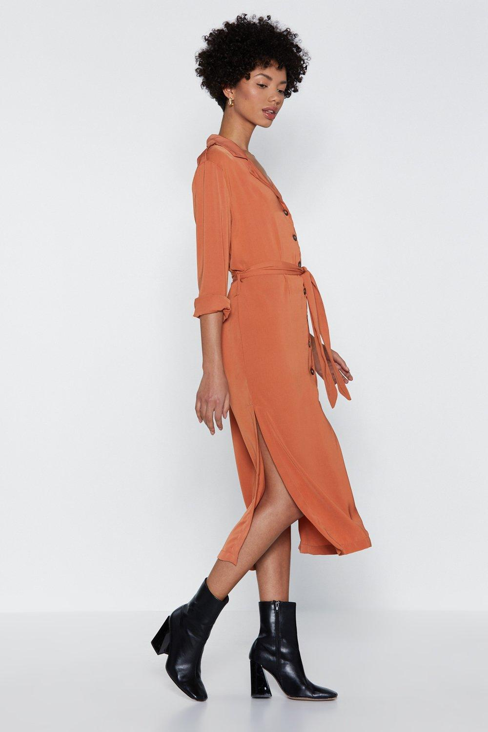 afbede3e458f71 Utility Midi Dress | Shop Clothes at Nasty Gal!