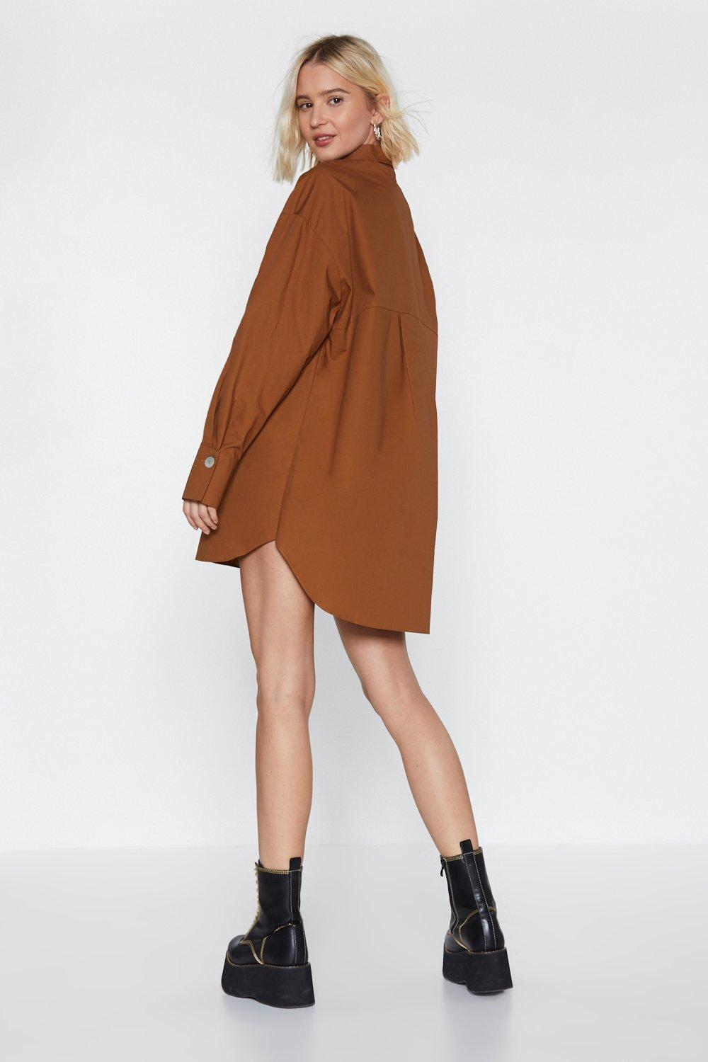 2ba9b806d009 Settle Button-Down Shirt Dress. Hover to zoom