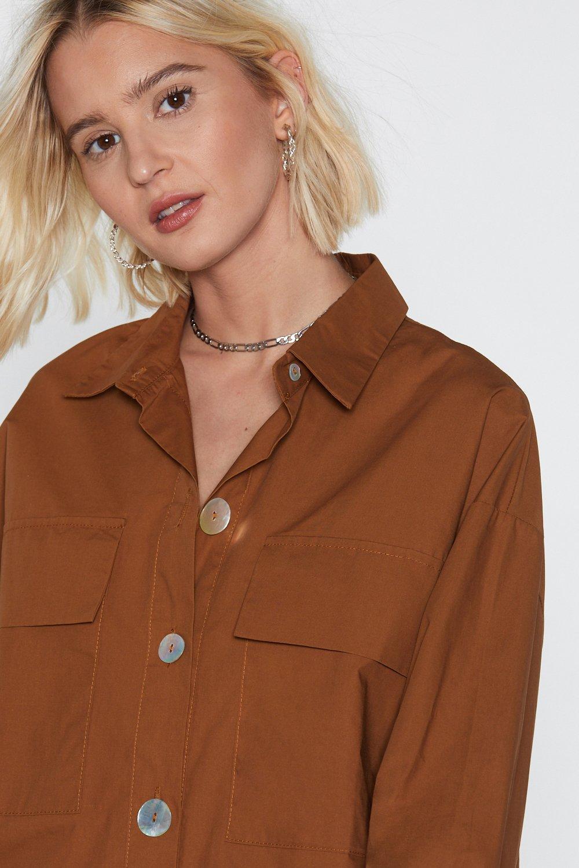 8e4f276c9000 Settle Button-Down Shirt Dress