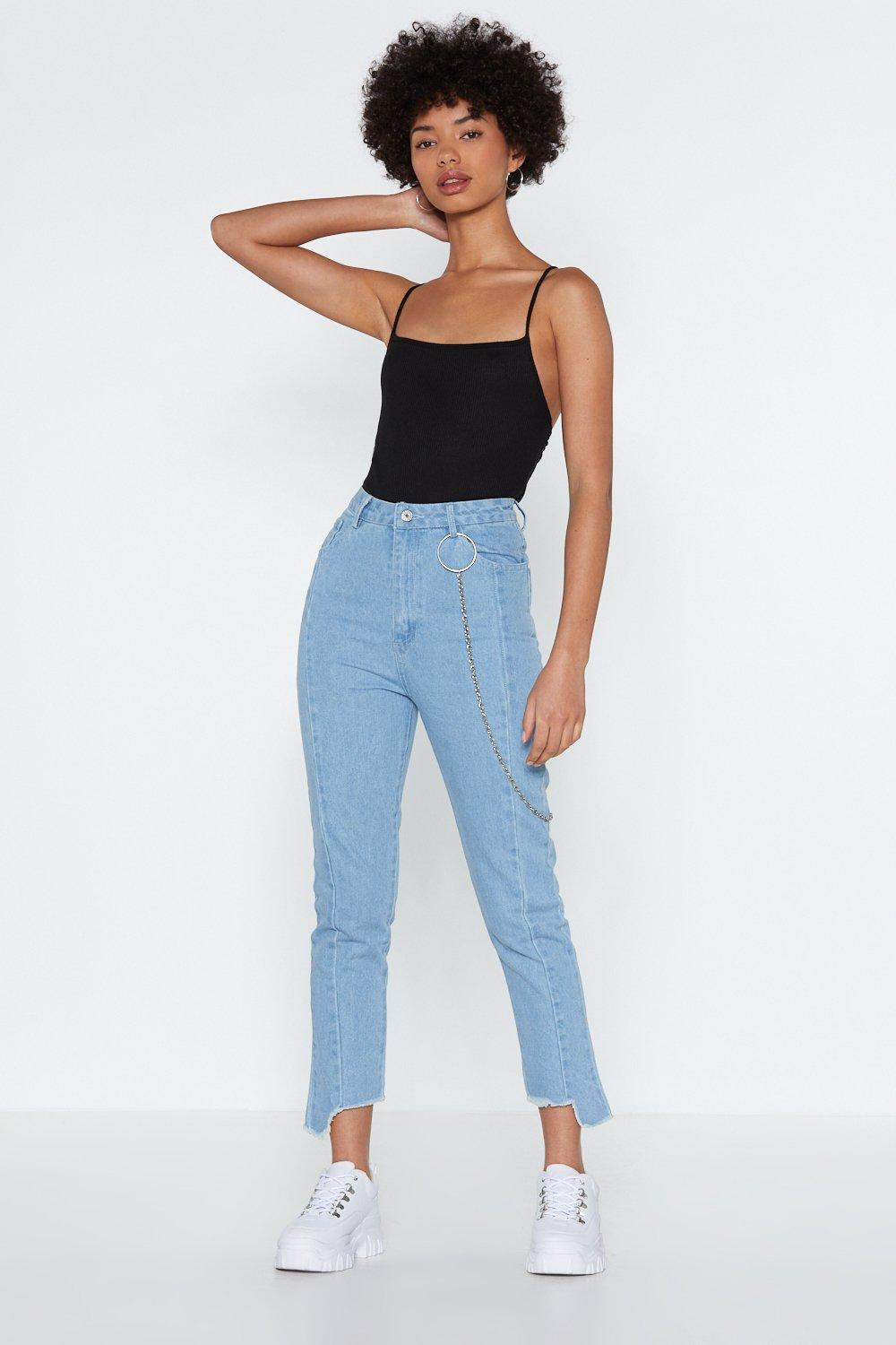 price reduced cozy fresh ever popular At a Loose End Frayed Jeans | Shop Clothes at Nasty Gal!