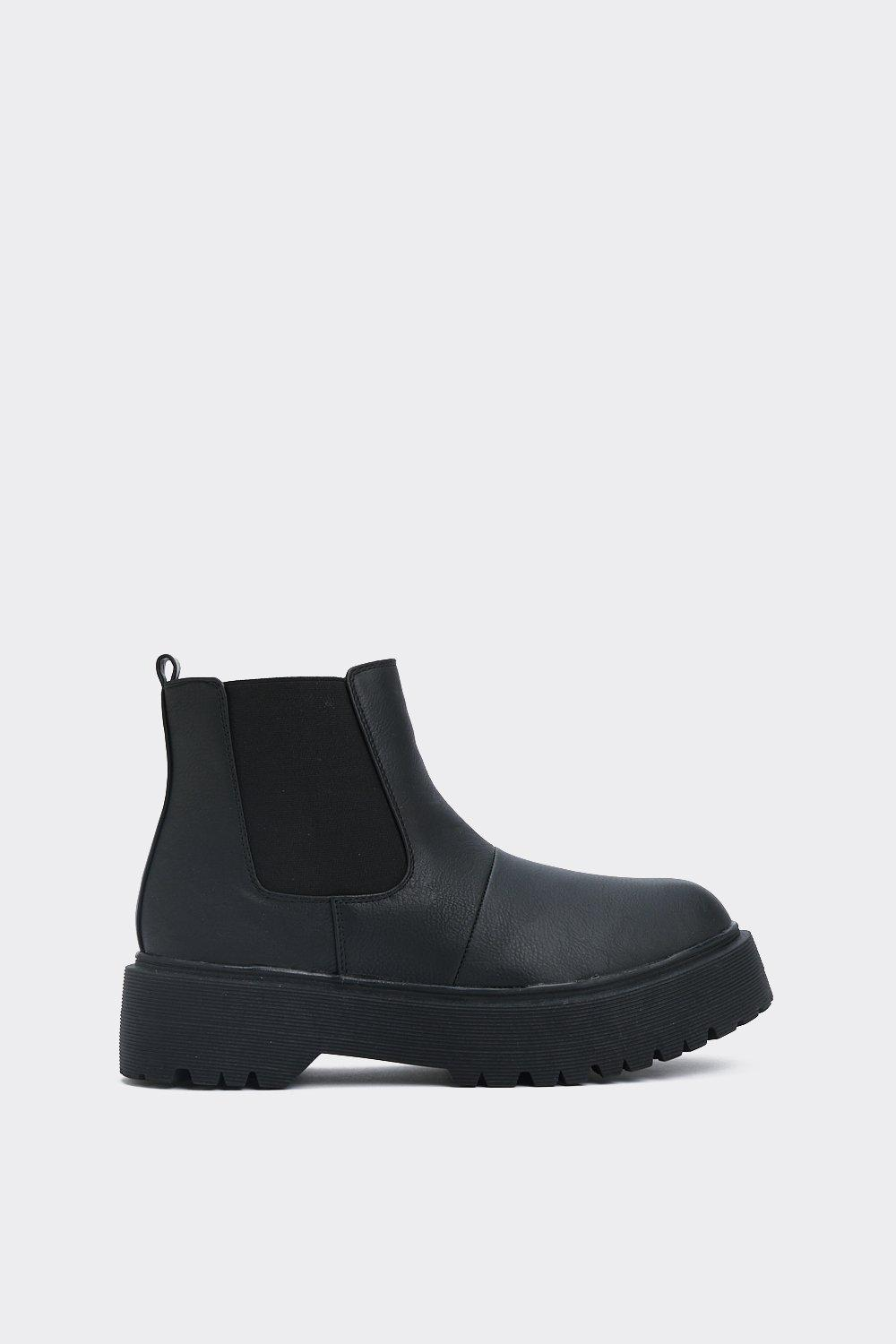Step Up Your Game Chelsea Boot by Nasty Gal