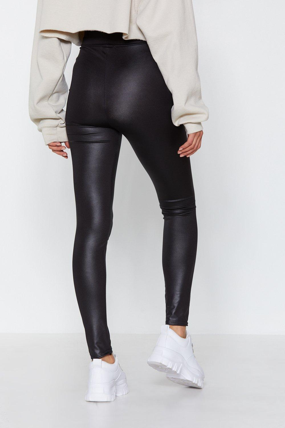 30c58965a48c Wet Do You Know High-Waisted Leggings   Shop Clothes at Nasty Gal!