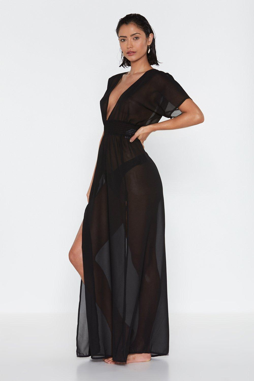 01cc9bea73 Tough Slit Cover-Up Maxi Dress | Shop Clothes at Nasty Gal!