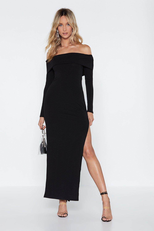 27c33169bf25 Fold Me Tight Off-the-Shoulder Dress