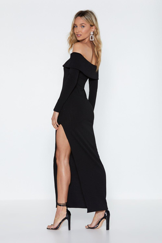 c3627267730d Fold Me Tight Off-the-Shoulder Dress | Shop Clothes at Nasty Gal!