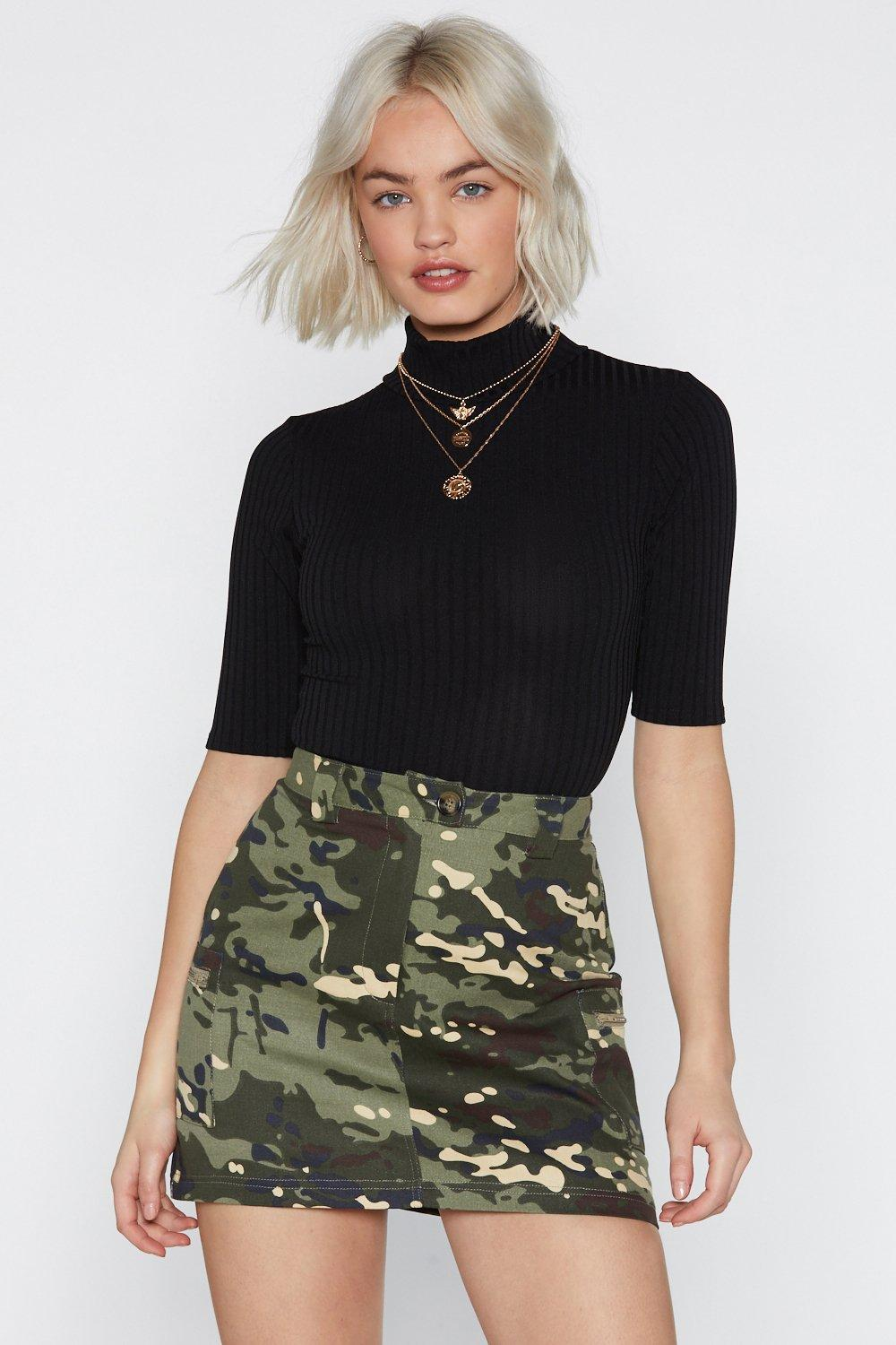 1ce55b18 One Neck of a Party Turtleneck Bodysuit | Shop Clothes at Nasty Gal!