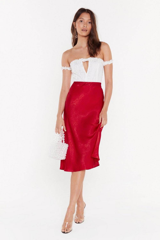 855cd9229 Just My Type Satin Midi Skirt | Shop Clothes at Nasty Gal!