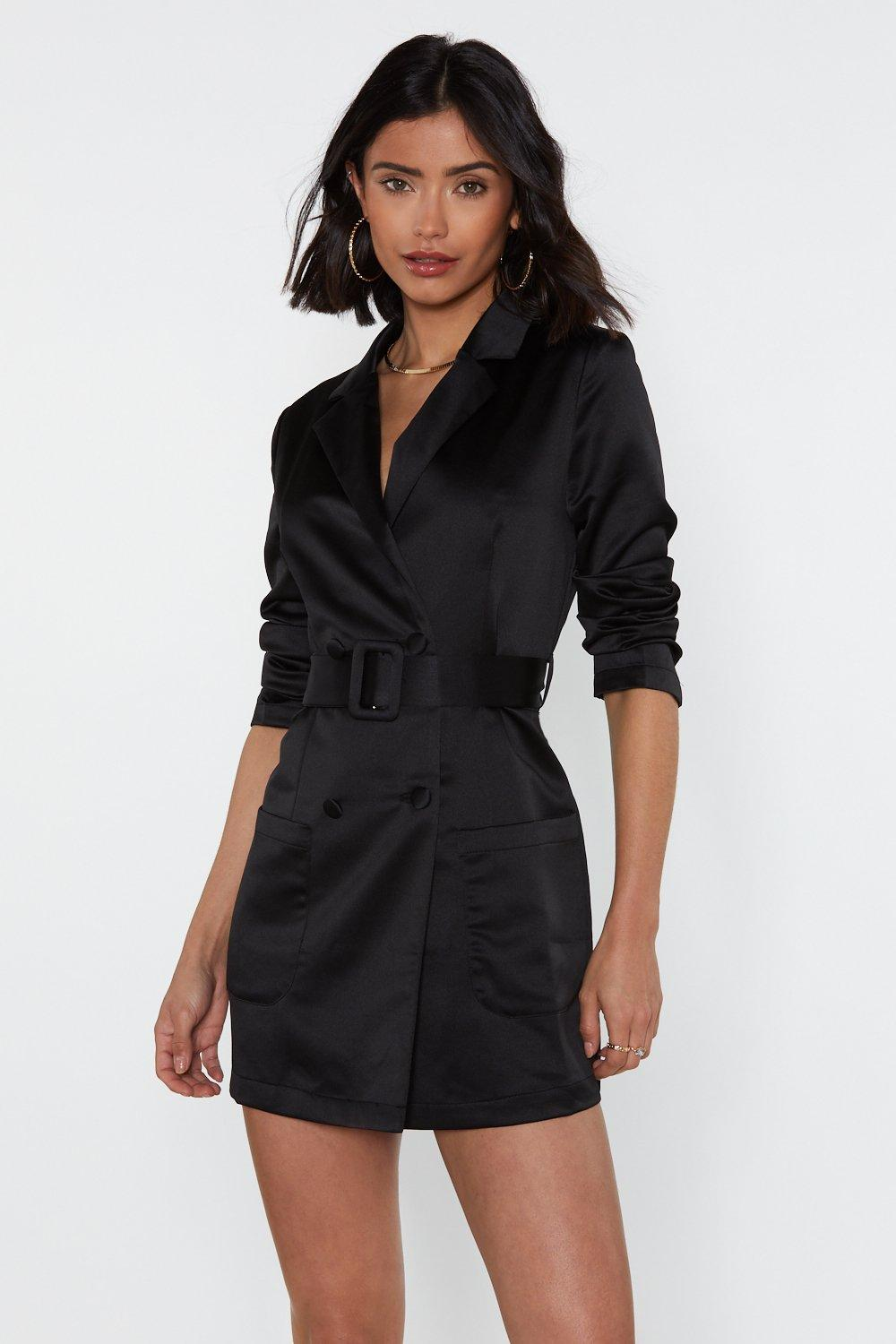 330fd0c4dea Womens Black Such a Hell Blazer Dress. Hover to zoom
