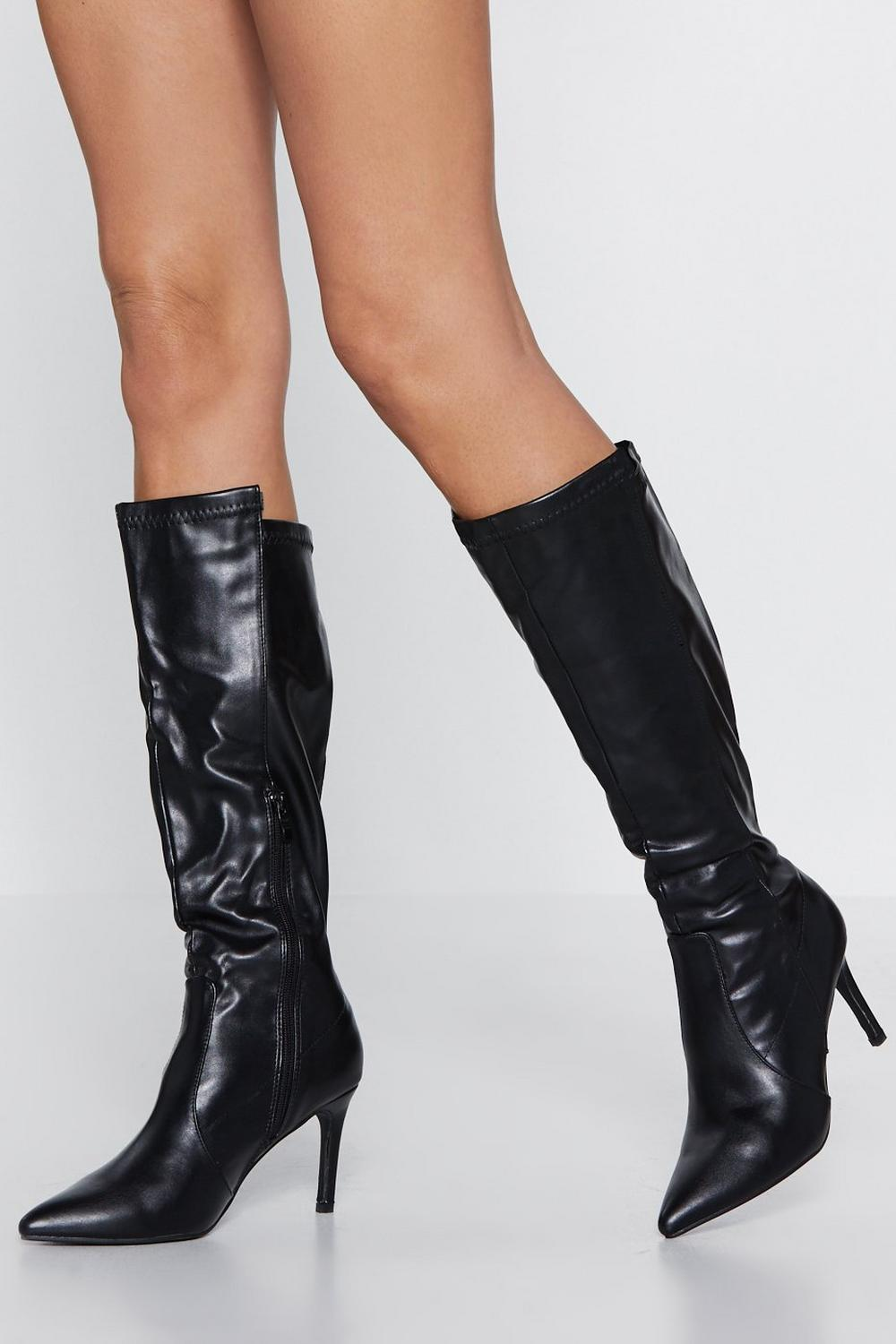 d8aa70ccafbd Womens Black Purr for Me Calf Boot. Hover to zoom