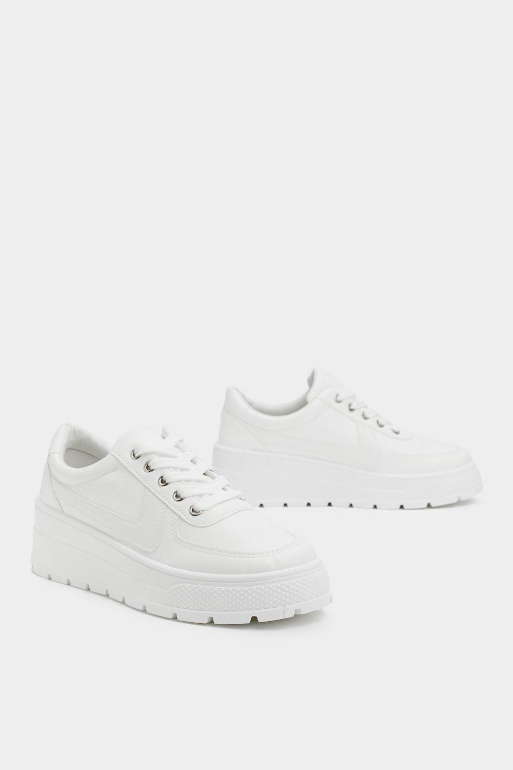 I Can't Blank You Enough Platform Sneaker by Nasty Gal