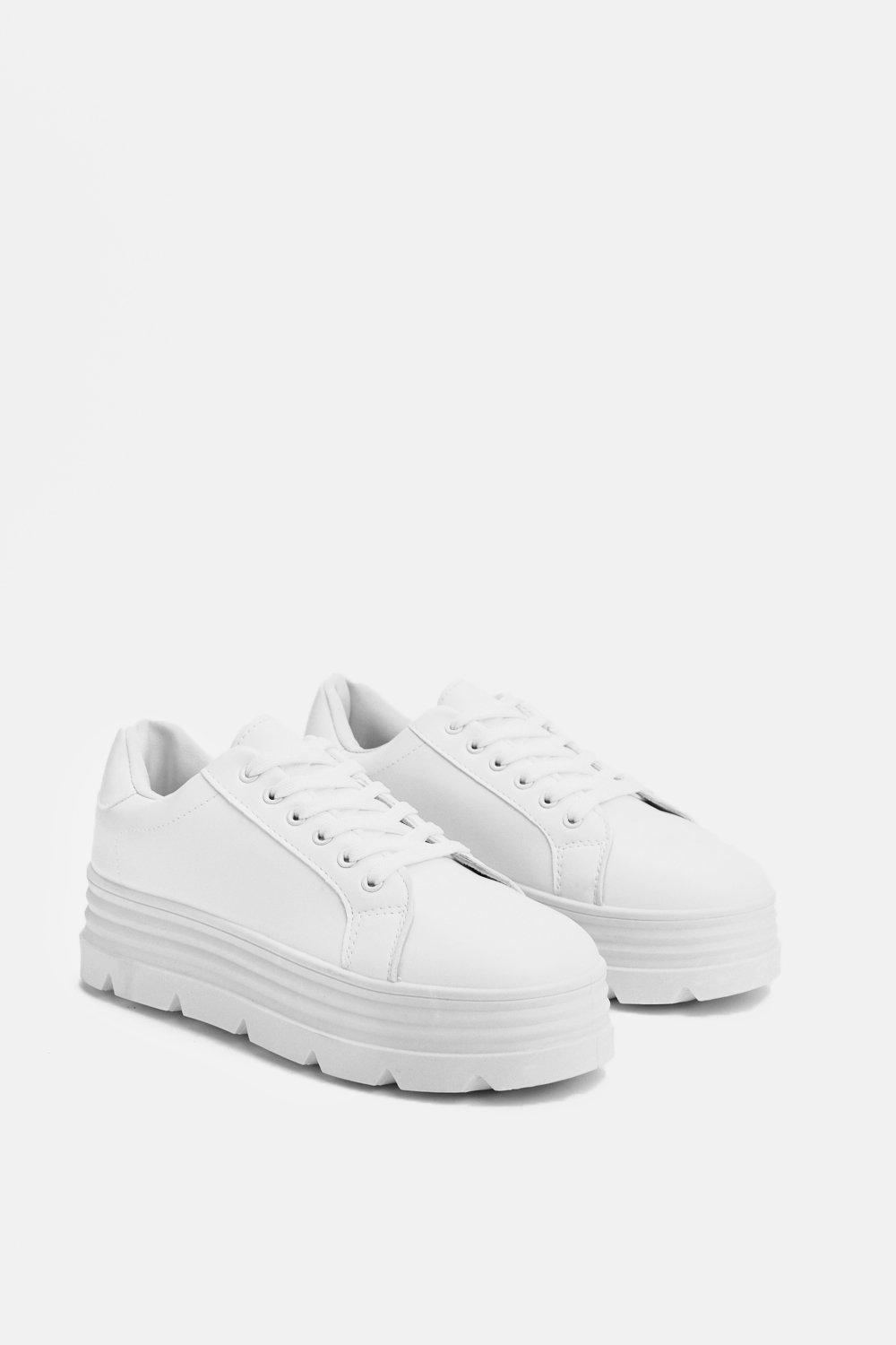 Gotta Lot Of Sole Chunky Sneaker by Nasty Gal