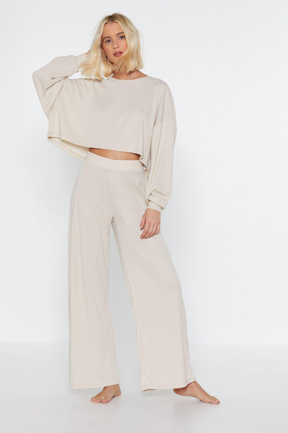 a23bcadc9f6e Let Loose Wide-Leg Lounge Joggers | Shop Clothes at Nasty Gal!