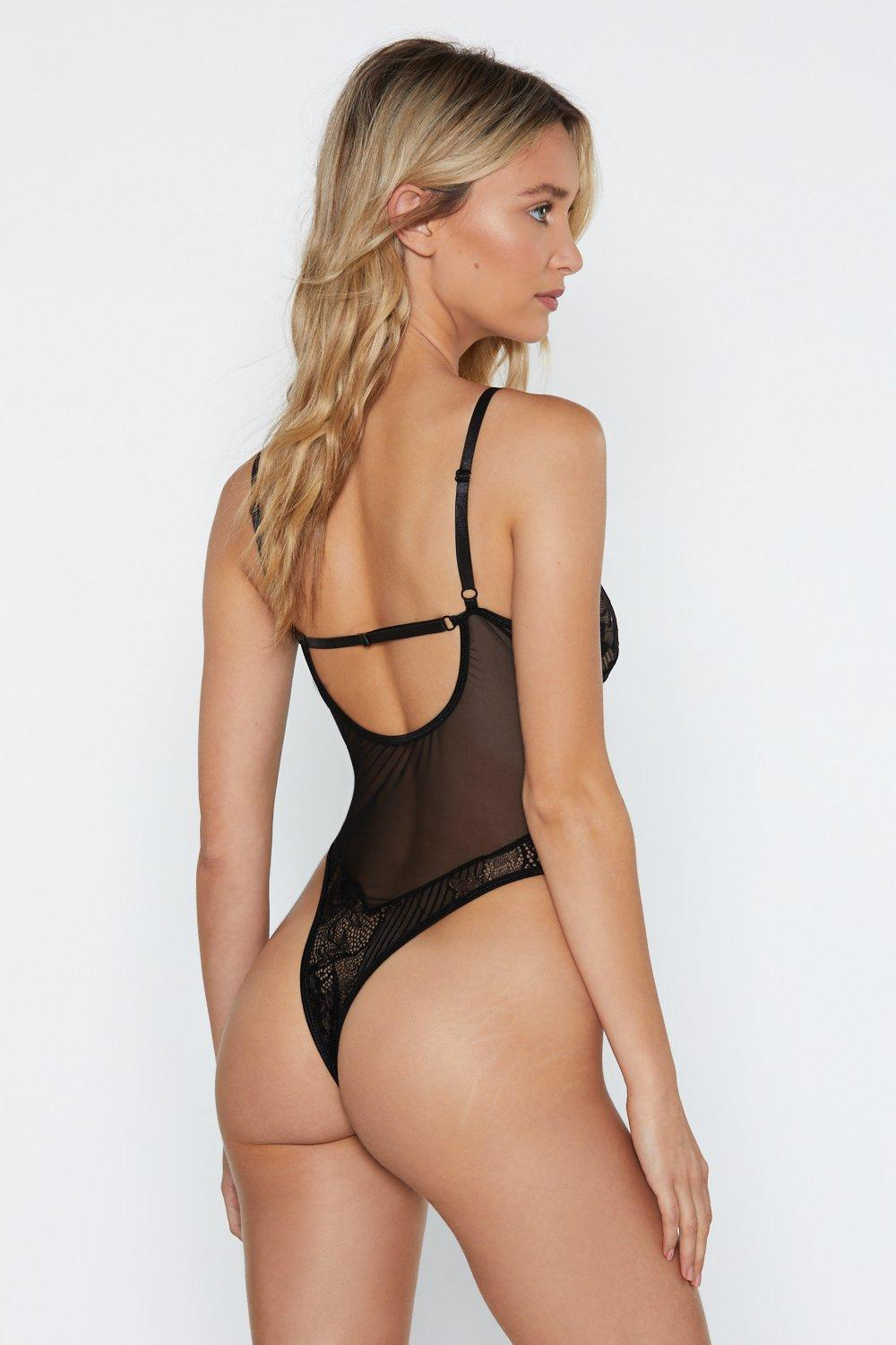 89b18049bc1c Sheer Genius Lace Bodysuit | Shop Clothes at Nasty Gal!