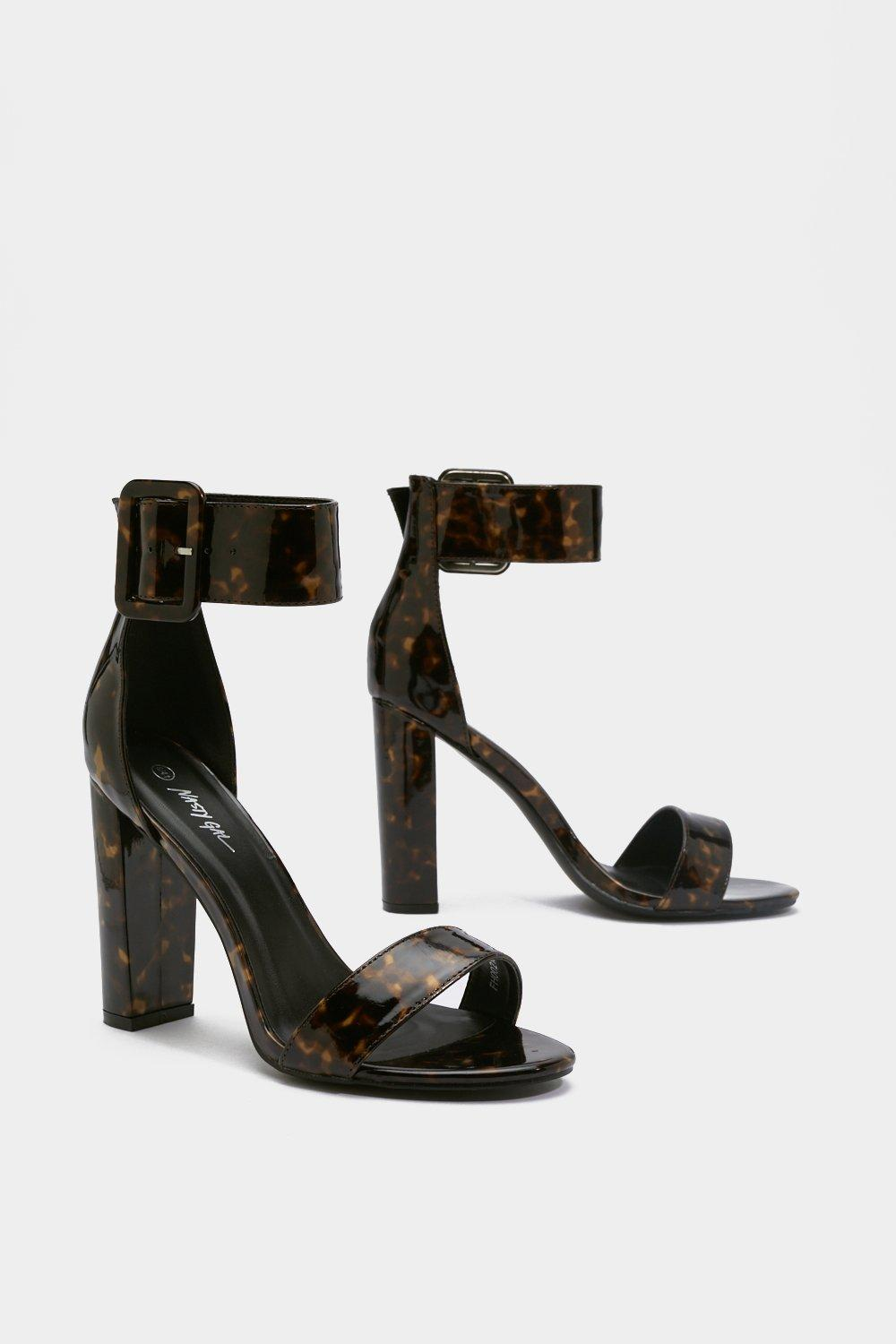 Tortoiseshell One Of Buckle Clothes Gal At Nasty Shell HeelsShop A Time VGpSMqUz