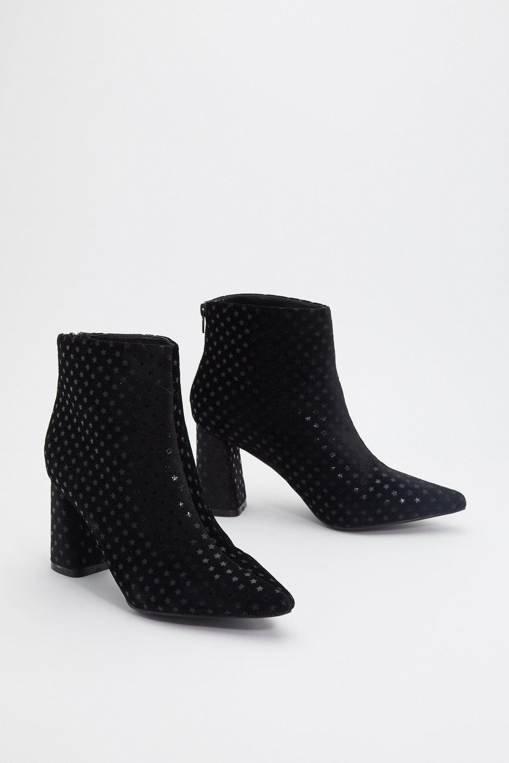 a06a92fd1bb On Star With Me Faux Suede Heeled Boot | Shop Clothes at Nasty Gal!