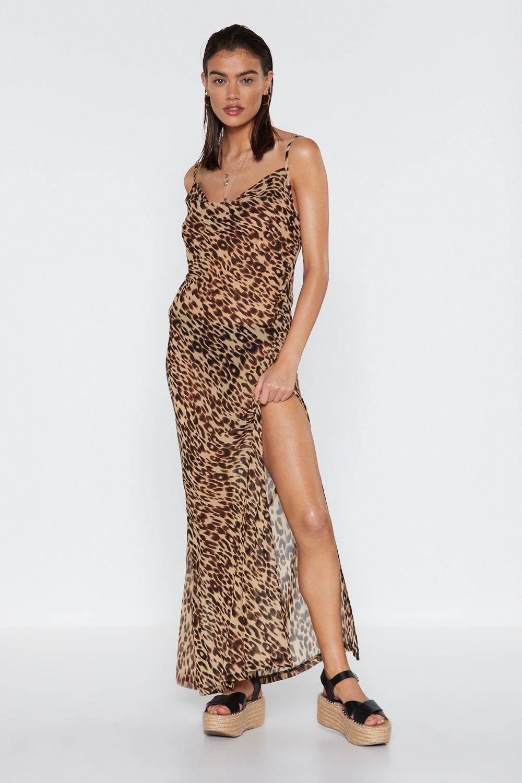 7042ce017ba9 Take a Wild Guess Cheetah Cover-Up Dress | Shop Clothes at Nasty Gal!