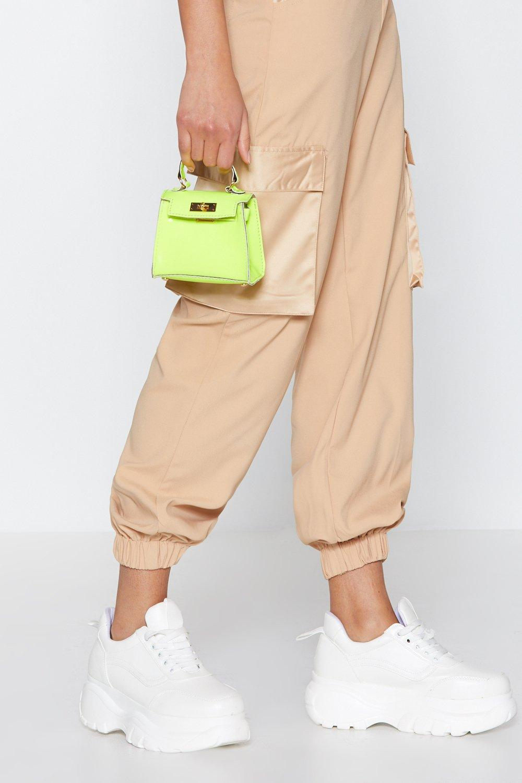 db34ec9859 WANT Neon It Tonight Mini Crossbody Bag   Shop Clothes at Nasty Gal!