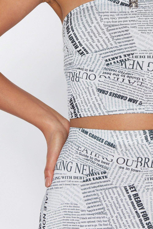 a24becb26 News Flash Mini Skirt | Shop Clothes at Nasty Gal!