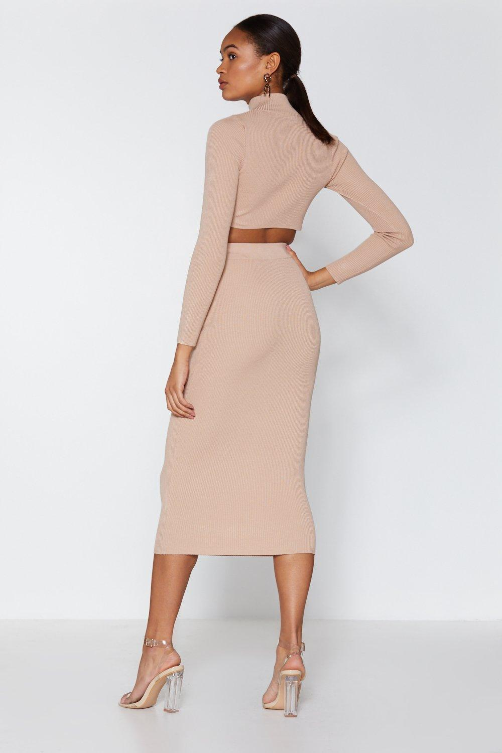 5a542e368bfc My High Neck My Back Top and Midi Skirt | Shop Clothes at Nasty Gal!