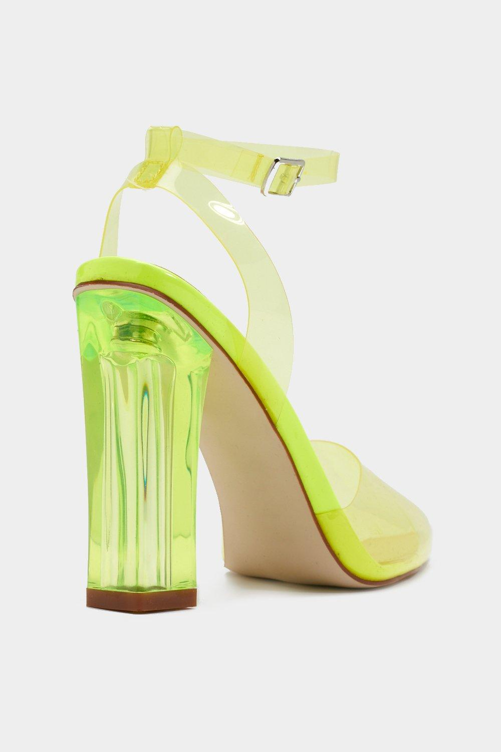 2b21ac7ba42 And Your Point is Perspex Heels | Shop Clothes at Nasty Gal!