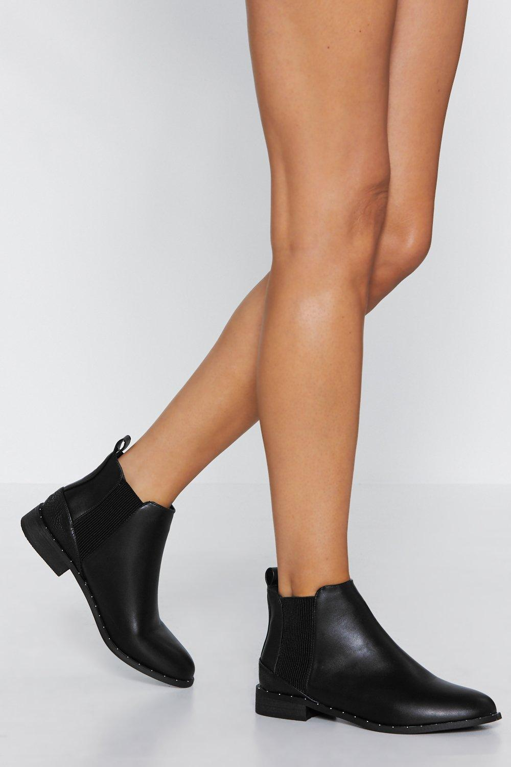 Pop In Chelsea Boot by Nasty Gal