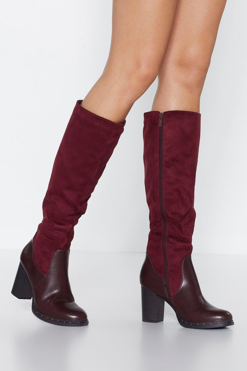 3bd2aff35ba Take a Ride Knee-High Boot. Hover to zoom