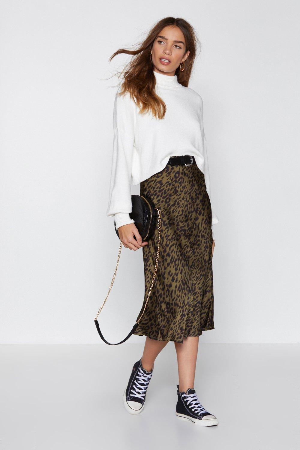487a41accb The End of Love Satin Midi Skirt | Shop Clothes at Nasty Gal!
