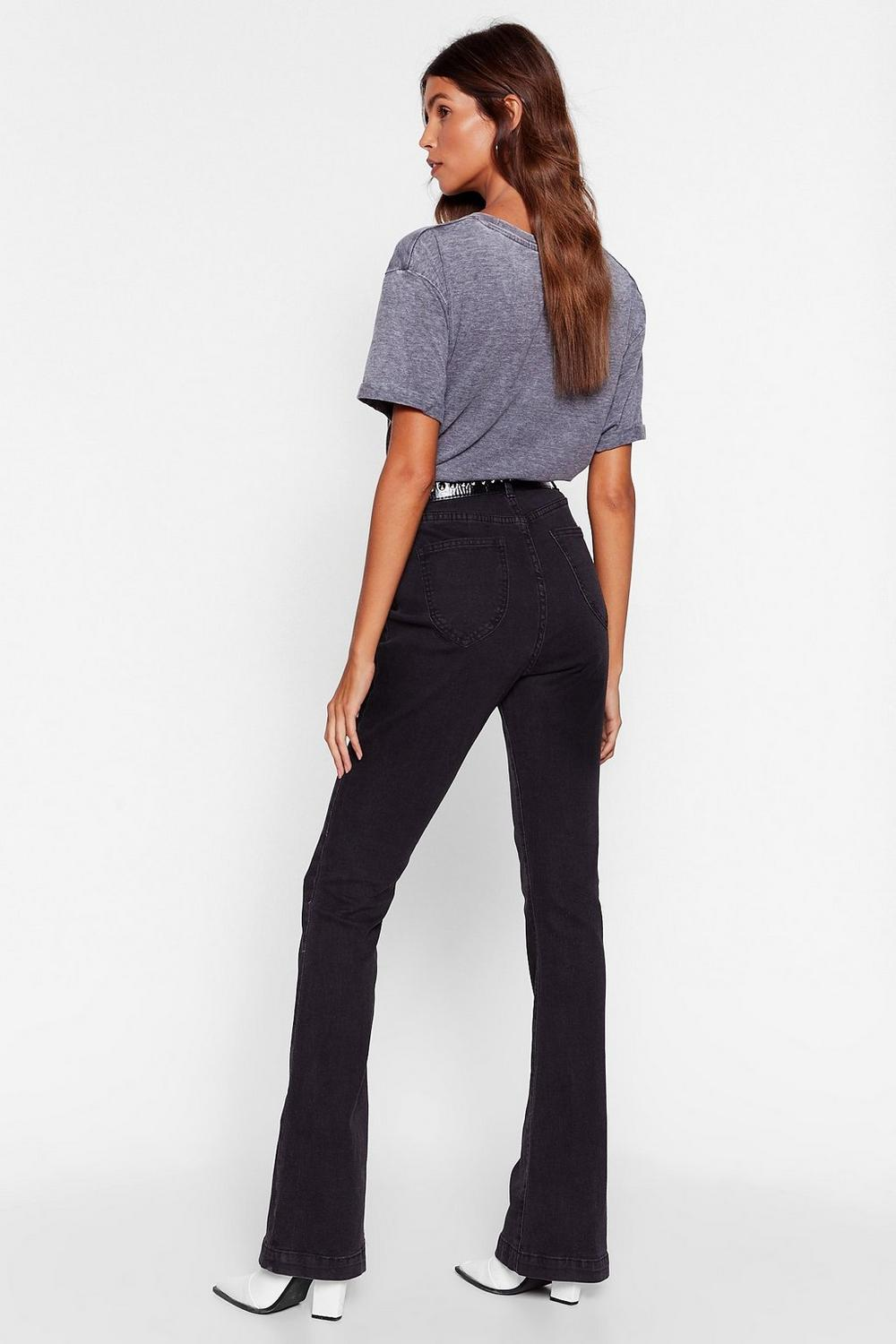 a30616ee Donna High-Waisted Flare Jeans | Shop Clothes at Nasty Gal!
