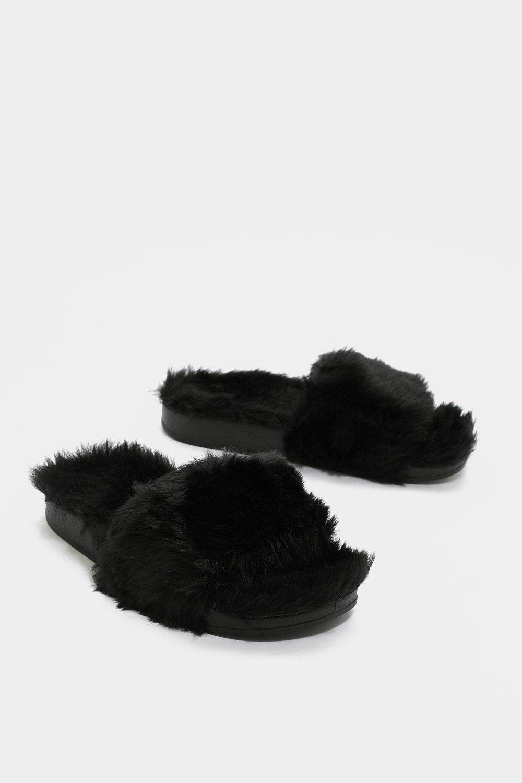 e16b5722b8db Comfy Never Looked So Good Faux Fur Slider