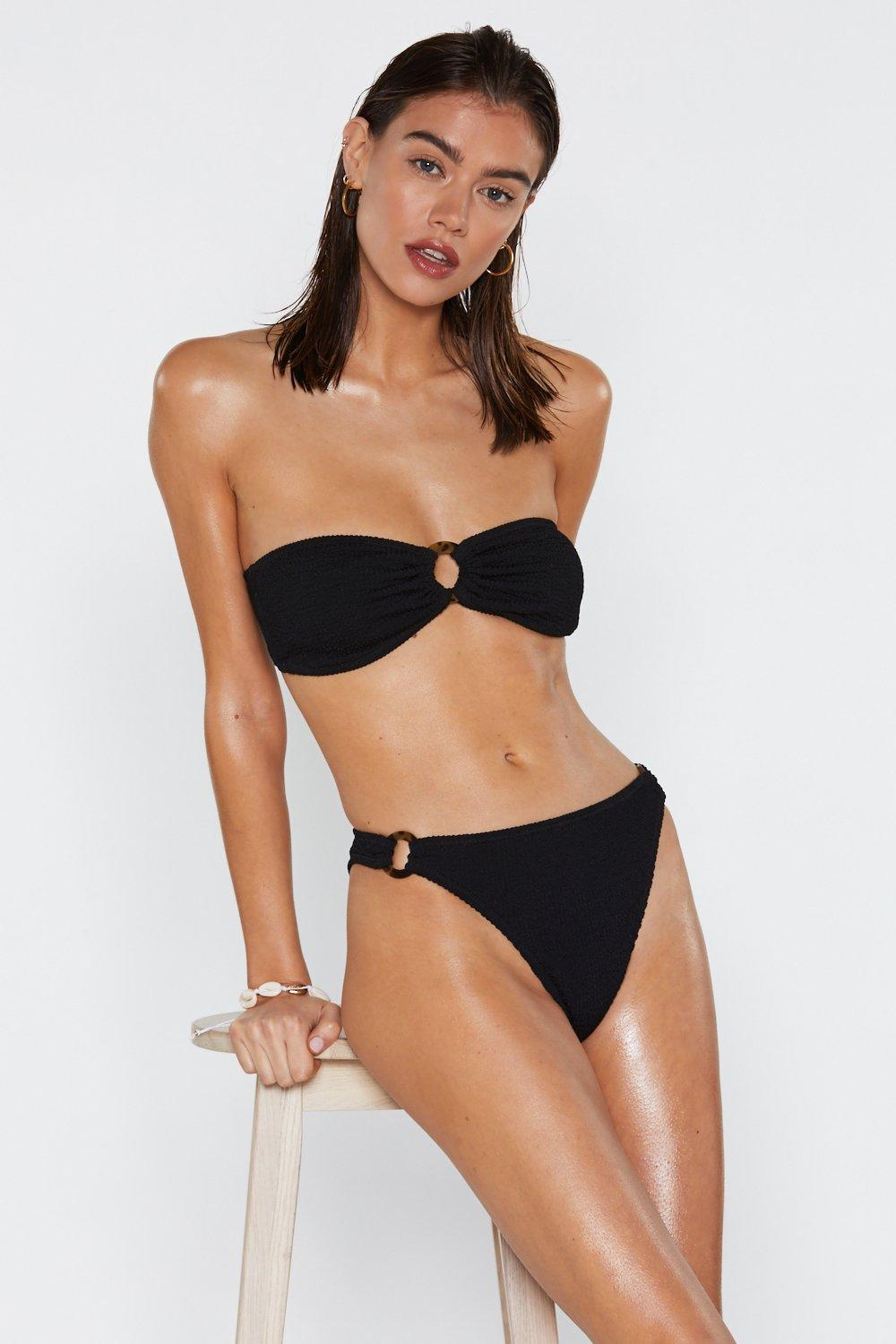 7234e2339d559 Ring It On Crinkle Bikini Bottoms | Shop Clothes at Nasty Gal!