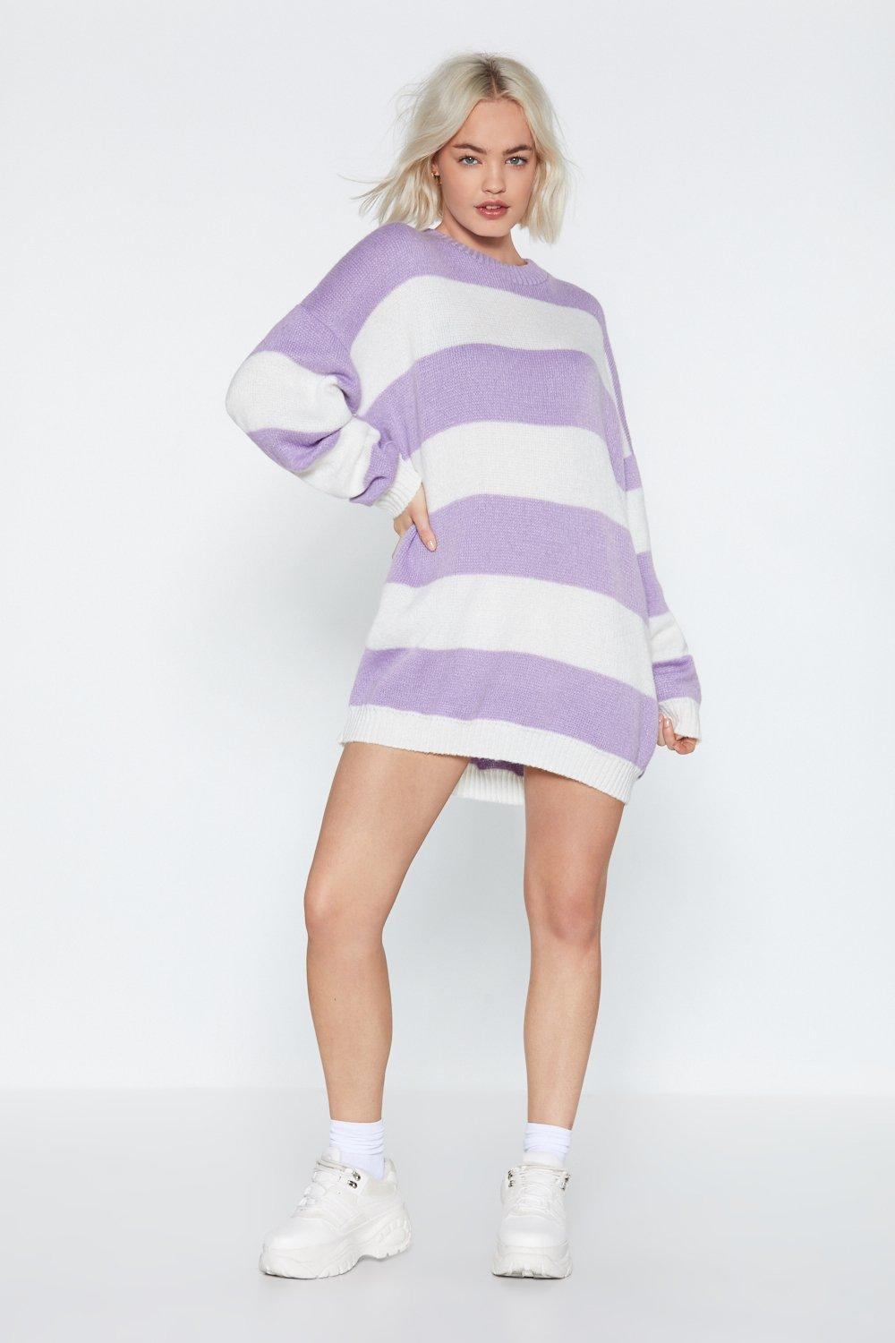 1a14031ccf68 That Stripe of Girl Sweater Dress