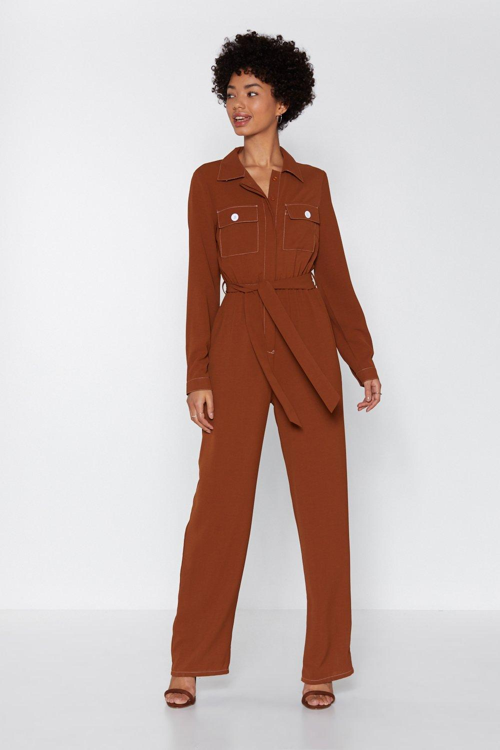 6932f9d224827a Such a Stitch Utility Boilersuit | Shop Clothes at Nasty Gal!