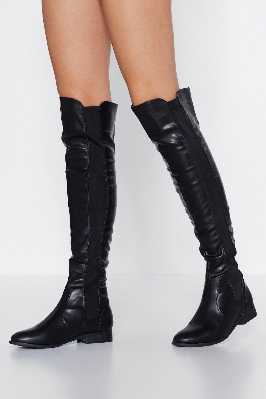 abec50ec9011 Knee Deep Knee-High Boot | Shop Clothes at Nasty Gal!