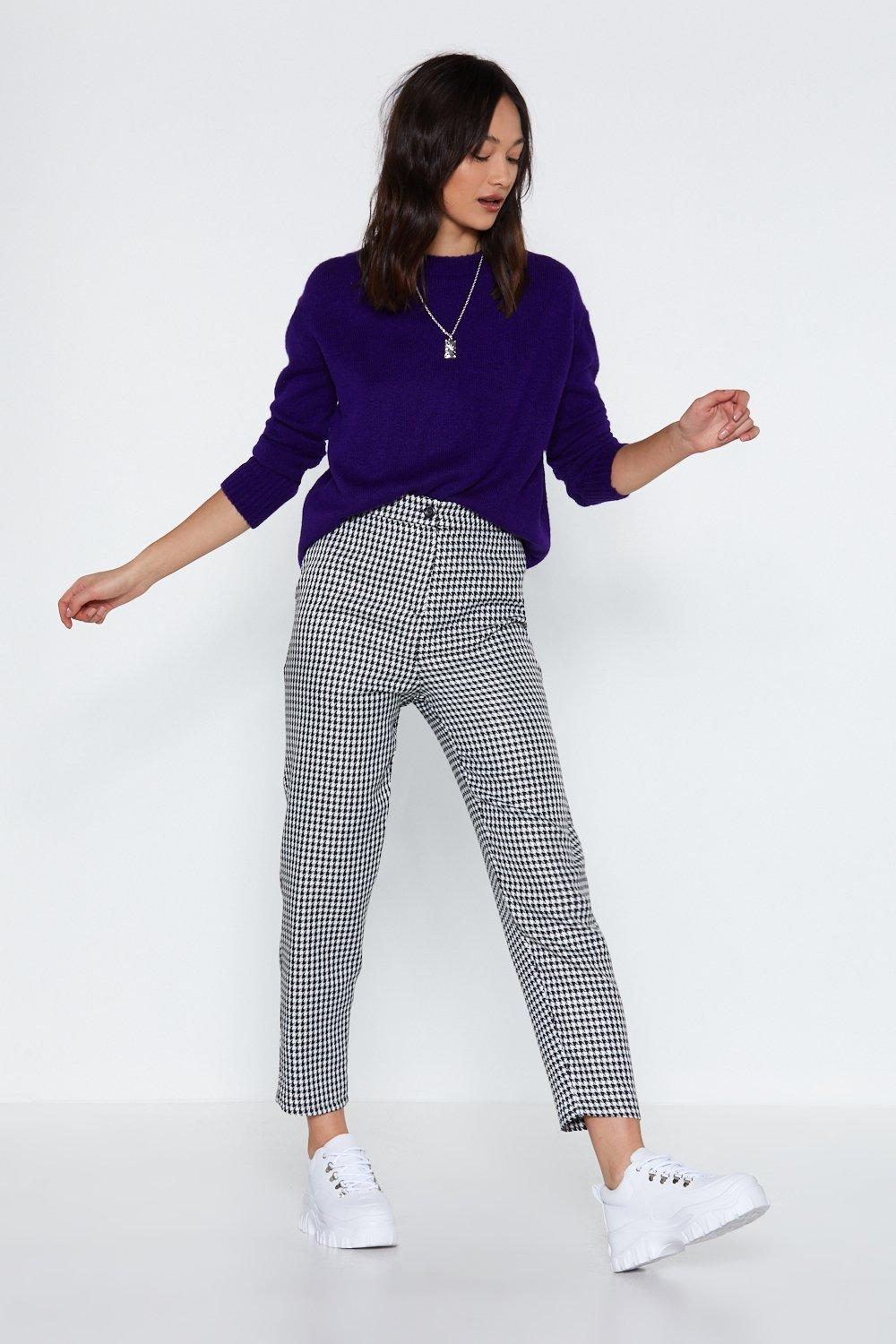 9dca2a3ce We Hound Love Houndstooth Pants | Shop Clothes at Nasty Gal!