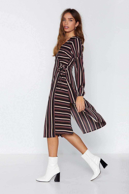 8d6f8061662 Womens Black Line By Me Midi Dress