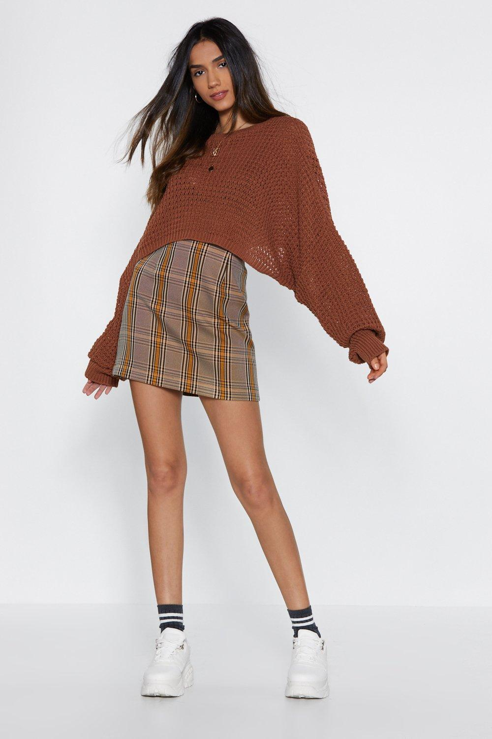 c7601df57d5c Check On It Mini Skirt | Shop Clothes at Nasty Gal!