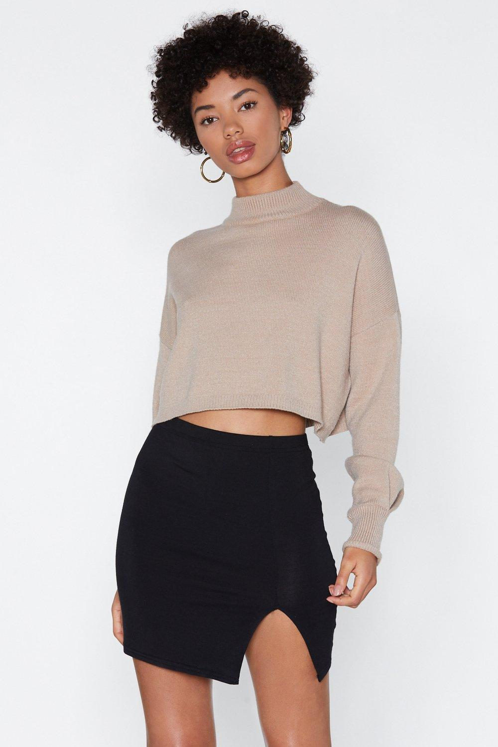03022527a Wait a Mini Slit Skirt | Shop Clothes at Nasty Gal!