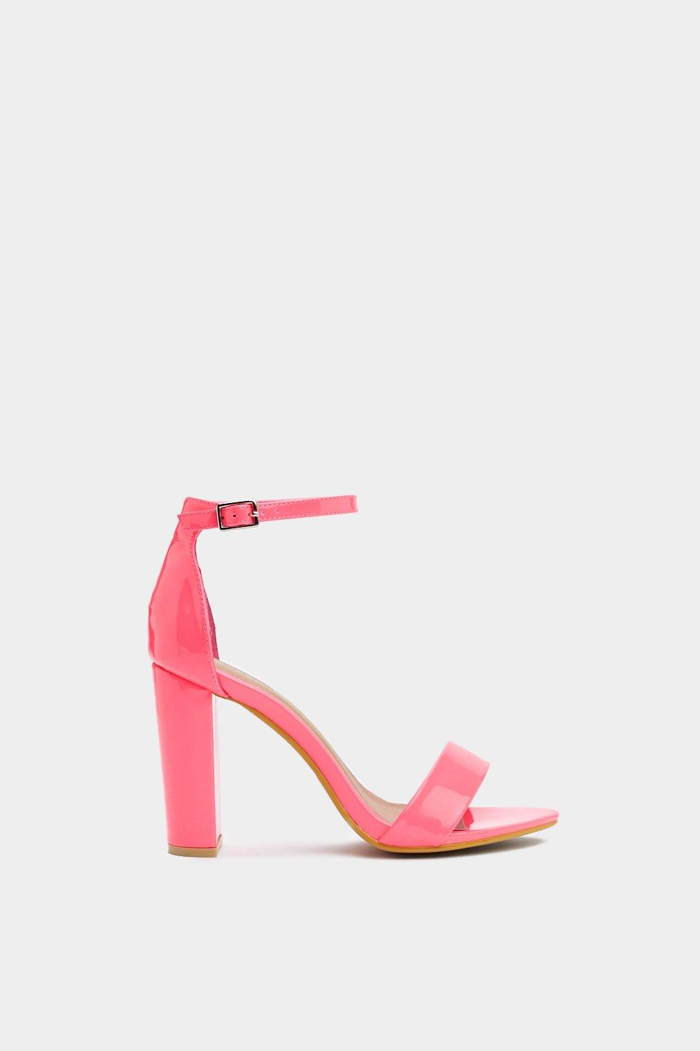 960caed9958 Get  Em Before They re Neon Patent Heel